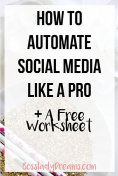Learn how and why it's super important for you to automate your social media for your business.  Click through to read the whole post! • how to automate social media, social media automation, autopilot, automated social media
