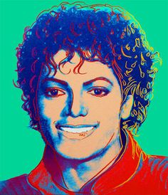 Michael Jackson (Green) by Andy Warhol in early 80s, 30x26; sold at auction for over $1M, owner not disclosed. In 1984, Time magazine commissioned a similar painting with yellow background.
