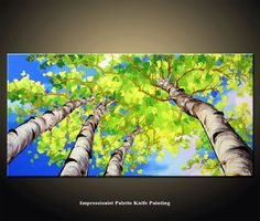 The painting was created on 100 % acid-free cotton and it was mounted on 1.5 inch DEEP support frame. An hand stretched high quality artist canvas made in