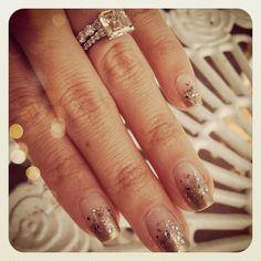 Ombre_Nails_Art_Engagement_Ring_Chriselle