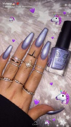 love the colour but I would make the nails shorter. Sexy Nails, Dope Nails, Nails On Fleek, Fun Nails, Gorgeous Nails, Pretty Nails, Nail Games, Nail Inspo, Nails Inspiration