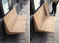 Diy Urban Bench