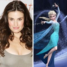 As you all know Idina Menzel plays the queen of Arendl in the new released Disney movie Frozen. Idina also sings Let it go in Frozen. Frozen is out on Blu ray and DVD right know go and get it before you miss out on Olaf. Disney Nerd, Disney Girls, Disney Love, Disney Pixar, Frozen Film, Elsa Frozen, Disney Frozen, Idina Menzel