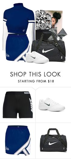 """CHEER COMPETITION"" by alexanderbianca ❤ liked on Polyvore featuring NIKE"
