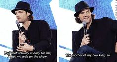 [gifset] Jared's favorite moment throughout  the years. #NerdHQ14