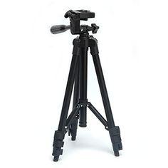 ZHCH Professional 50 Camera Tripod Stand Holder with Tripod Bag AdjustableRetractable Aluminum Tripod for iPhone 7 iPhone 6S&Plus Samsung Galaxy S6 S7 (BLACK) http://ift.tt/2jB7avJ