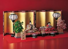 Hina dolls for Girl's Day, March 3rd