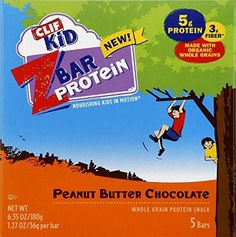 Clif Zbar Protein, Peanut Butter Chocolate Bar