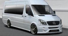 If I had a van it would look like this!! (Mercedes Sprinter Bodykit)