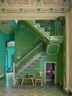 michael eastman photo, cuba by shauna Interior Exterior, Interior Architecture, Interior Design, Cuban Architecture, Future House, My House, Havana Cuba, Aesthetic Rooms, House Goals