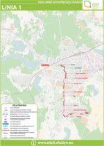 Zarząd Dróg Zieleni i Transportu w Olsztynie | mapy i schematy