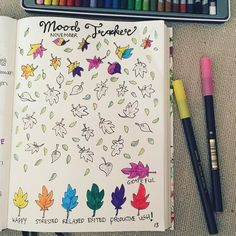 Having a relaxing evening.. Working in my bullet journal and watching dragonheart.. #bujo #bulletjournal #moodtracker #mood