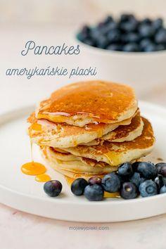 Pancakes   Moje Wypieki American Style Pancakes, Eggless Recipes, Pancake Day, Tasty Pancakes, Baking Tins, Non Stick Pan, How To Make Light, Dairy Free Recipes, Vegetable Recipes