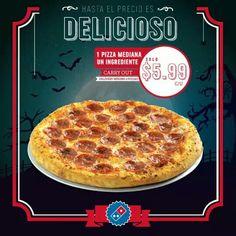 oferta 9/28  /11/15 2015 Domino's Pizza, Pepperoni, Creative, Food, Meals
