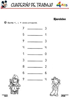 Numero Anterior Y Posterior, Kids Playing, Map, Words, Notebook, Teaching Letters, Preschool Printables, Index Cards, Children Play