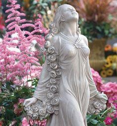 Flora: Divine Patroness of Gardens Statue