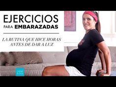 Rutina para embarazadas - 18 min. - La que hice incluso horas antes de dar a luz!!!! - Caribe Azul - YouTube Pregnancy Workout, Pregnancy Tips, Hiit, Cardio, Fit Mum, Prenatal Yoga, Baby On The Way, Happy Baby, Baby Hacks