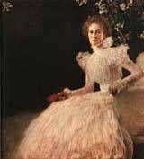 Portrait of Soja Knips 1898 by Gustav Klimt