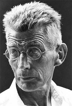 Samuel Beckett   by Steve Schapiro