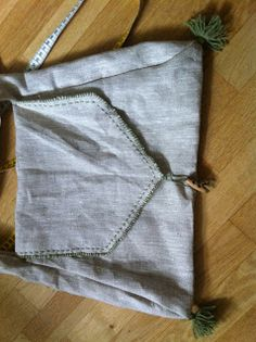 Aldriona's Crafts: Pilgrim's bag finished