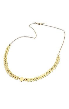 Shlomit Ofir Andromeda Necklace in 24K Plated Gold.   http://www.shopcloakroom.com/collections/jewelry/products/andromeda-necklace