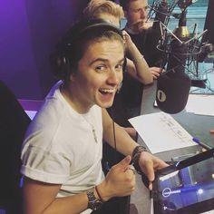 I won! Brad, BBC/Radio 1, The Vamps, June 2016
