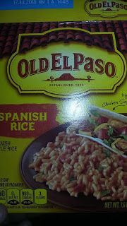 Steven Helmer Publications: Review of Old El Paso Spanish Rice