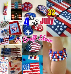 DIY Craft Ideas: 32 Easy & Attractive 4th of July Craft Ideas for Kids. Cute and simple Juth 4th craft ideas for all age groups from toddlers to teens and Preschool Kids to adults. Cheap and easy crafts with mason jar, toilet paper rolls and painting ideas to create firecrackers and outdoor wreath decor.