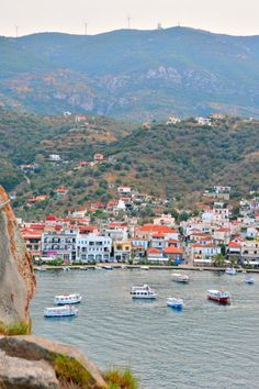 It's really easy to visit Poros island while you are visiting Athens.  It is just an hour away via ferry. Check out my post on the top things to do!