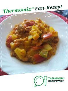 """Kartoffel- Gulasch- Eintopf """"Münsterländer Art"""" von FlorianN. Ein Thermomix ® Rezept aus der Kategorie Hauptgerichte mit Fleisch auf www.rezeptwelt.de, der Thermomix ® Community."""