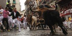 Cinco heridos por asta de toro en 2do encierro de San Fermín
