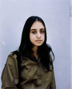 "Rineke Dijkstra, ""Induction Center, Tel-Hashomer, Israel, April 12, 1999""  (1999) | photograph | chromogenic print"