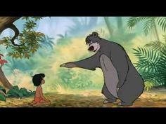 ▶ Das Dschungelbuch - Balu der Bär - Probier's mal mit Gemütlichkeit - YouTube