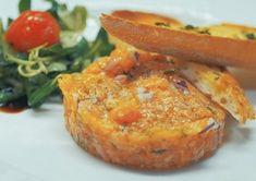 Tatarák z lososa Salmon Burgers, Baked Potato, Potatoes, Baking, Ethnic Recipes, Recipes, Potato, Bakken, Backen