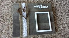 Wedding 5x7 photo holder
