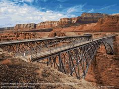 Navajo Bridge (1929), Colorado River. AZ