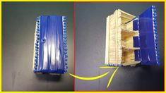--- DIY Miniature Refrigerator ( Made with Match Sticks!) Matchstick Art & Craft --- I make this video to show you how it look like a mini refrigerator form . Arts And Crafts, Diy Crafts, Duck Tape, Glue Gun, Refrigerator, Sticks, Miniatures, Make It Yourself, Projects