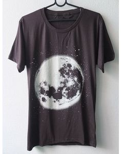 Moon Space T-shirt #tshirt #tshirtdesign #geek