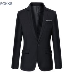 Fair price Hot Sale New Arrival Fashion Blazer Mens Casual Jacket Solid Color Cotton Men Blazer Jacket Men Classic Mens Suit Jackets Coats just only $37.98 - 39.98 with free shipping worldwide  #jacketscoatsformen Plese click on picture to see our special price for you