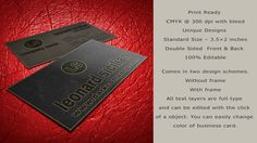 Creative Business Card ñ The Gold. Creative Business Card or Corporate Business Card especially for photo, photographer, gallery, photo shop, women, special shop, beauty or personal use.  What ...
