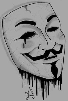 anon mask art - Google Search