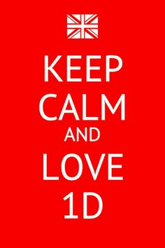 Keep Calm One Direction 1D