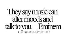 Eminem quote                                                                                                                                                                                 More