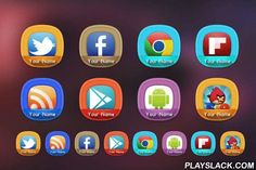 Persona 1455+ Icon Pack Theme  Android App - playslack.com , Personalize each icon with your or your loved one's name on it. Each icon has one of 24 different color shades.Note: Go launcher is not supported due to Icon Mask support.FEATURES:♦ More than 1455+ xxxhdpi icons (192x192px)♦ TSF Shell v3 theme support with Clock and Folder widget support♦ Icon Mask support♦ 6 custom wallpapers♦ 6 custom Dock icons for supported launchers♦ 24 icon backgrounds for non-themed icons♦ Most requested…