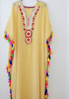 kaftan dress long caftan maxi embroidered bohemian dress gypsy