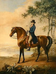 Warren Hastings Esq. on his Arabian Horse, after a painting by George Stubbs, 1796 1724-1806 by George Stubbs