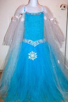 Elsa, the Snow Queen, inspired by Frozen