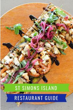 St Simons Island Restaurants Guide: A list of the top places to eat and drink in St Simons Island, Georgia to supplement your beach vacation. St Simons Island Restaurants, St Simons Island Georgia, Best Street Food, Restaurant Guide, Good Foods To Eat, Exotic Food, Best Dishes, Pressure Cooker Recipes, Best Breakfast
