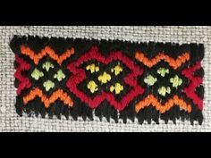Заповнення низі кольорами - YouTube Friendship Bracelets, Stitches, Embroidery, Rugs, Jewelry, Decor, Farmhouse Rugs, Sewing Stitches, Jewels