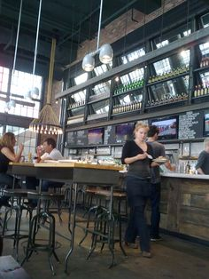 like the mirrors behind the bar. Restaurant Branding, Cafe Restaurant, Restaurant Design, Restaurant Interiors, Cafe Bistro, Cafe Bar, Coffee Shop Bar, Coffee Shops, Business Place